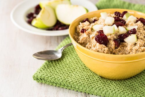 Oatmeal leaves you feeling full