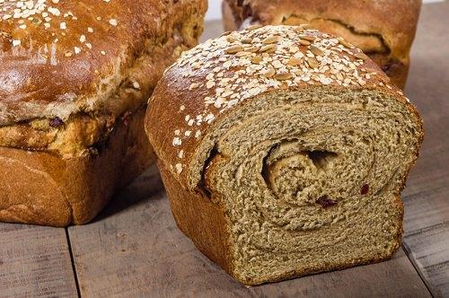 Swap white bread for whole grain breads