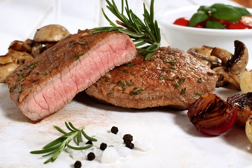Your diet restricts red meat