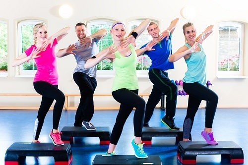 Finally, sign up for an aerobics class