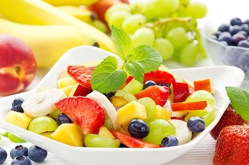 Lemon Cinnamon Fruit Salad