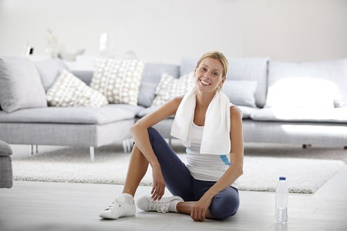Start a new exercise routine