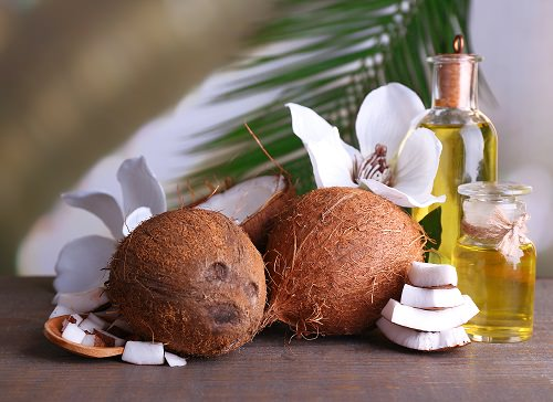 Weight loss with coconut oil