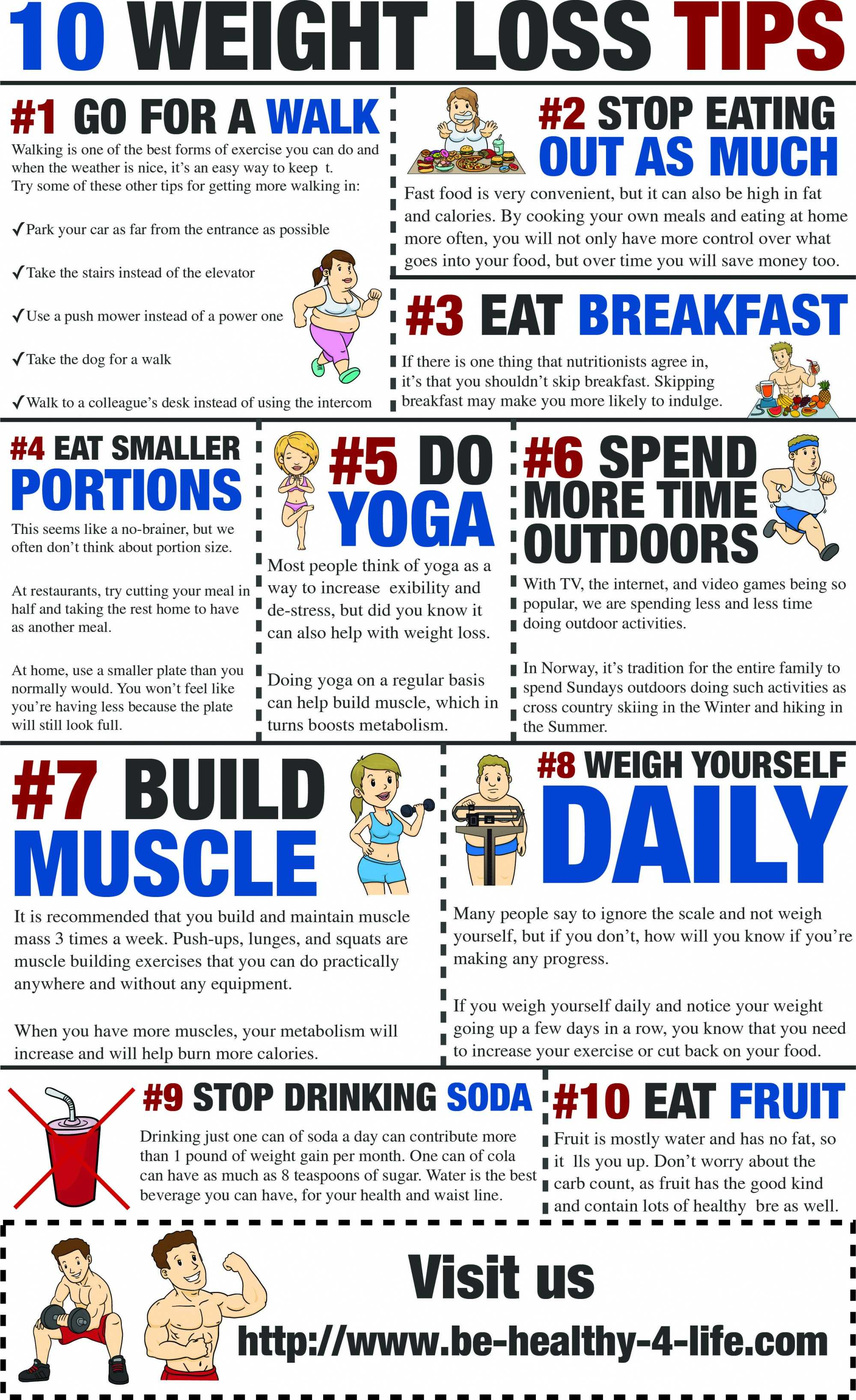 10 More Weight Loss Tips