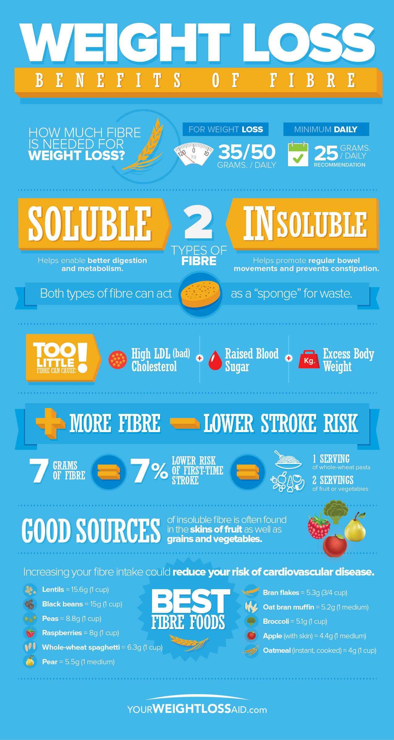 Weight Loss Benefits Of Fibre